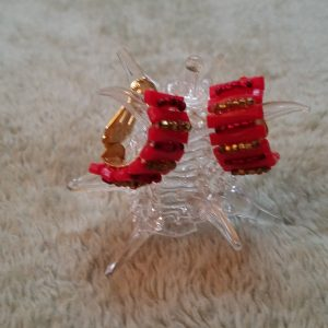 Strawberry Surprise Clip On Earrings