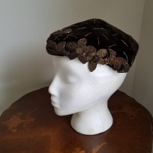 Beaded Flower Hat