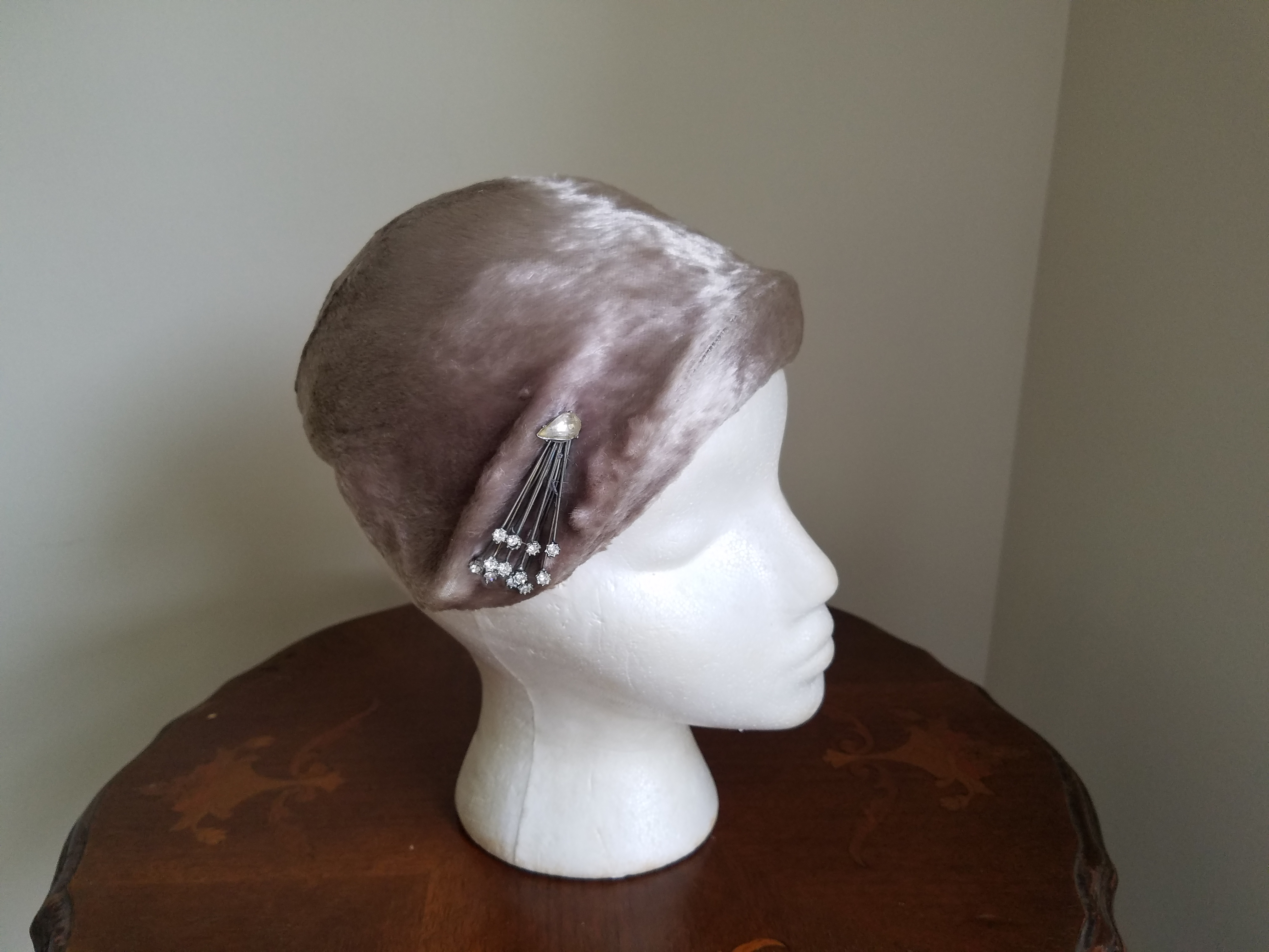 Champagne and Caviar Faux Fur Hat