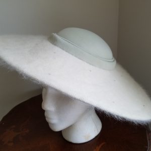Off White Vintage Hat