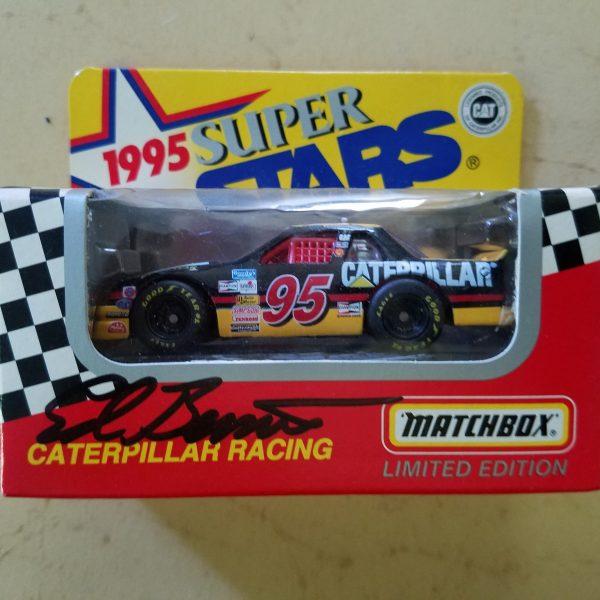 AUTOGRAPHED 1995 MATCHBOX SUPER STARS CAR