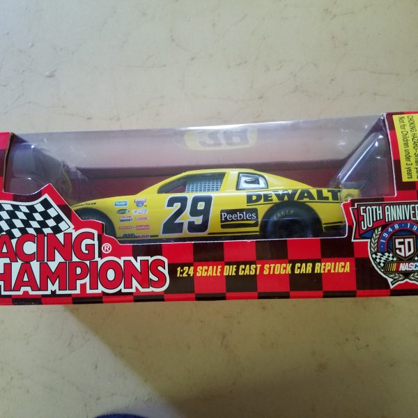 50TH Anniversary Racing Champions Dewalt #29 Die Cast Car