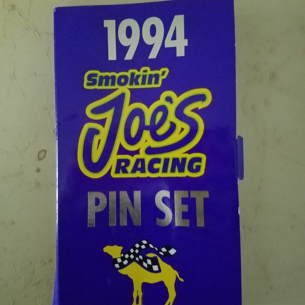 Smokin Joe's Winston Drag Racing Hat/Lapel Pin Set of 6