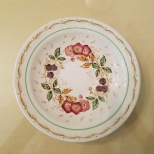 "VINTAGE ""BRAMBLE"" DINNERWARE BY WOOD'S BURSLEM ENGLAND SAUCER"