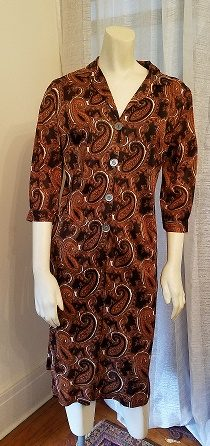 Jerry Gilden Autumn Paisley Dress