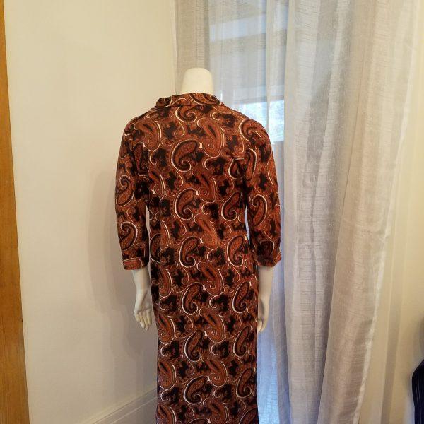 Vintage Jerry Gilden Autumn Paisley Dress