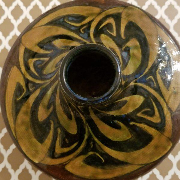 Vintage Gazo Foudji Hand Signed Vase
