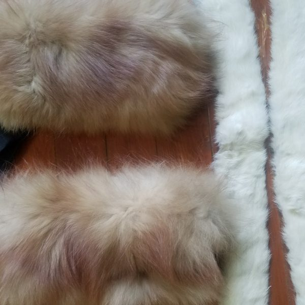 Vintage Fur Trim Lot