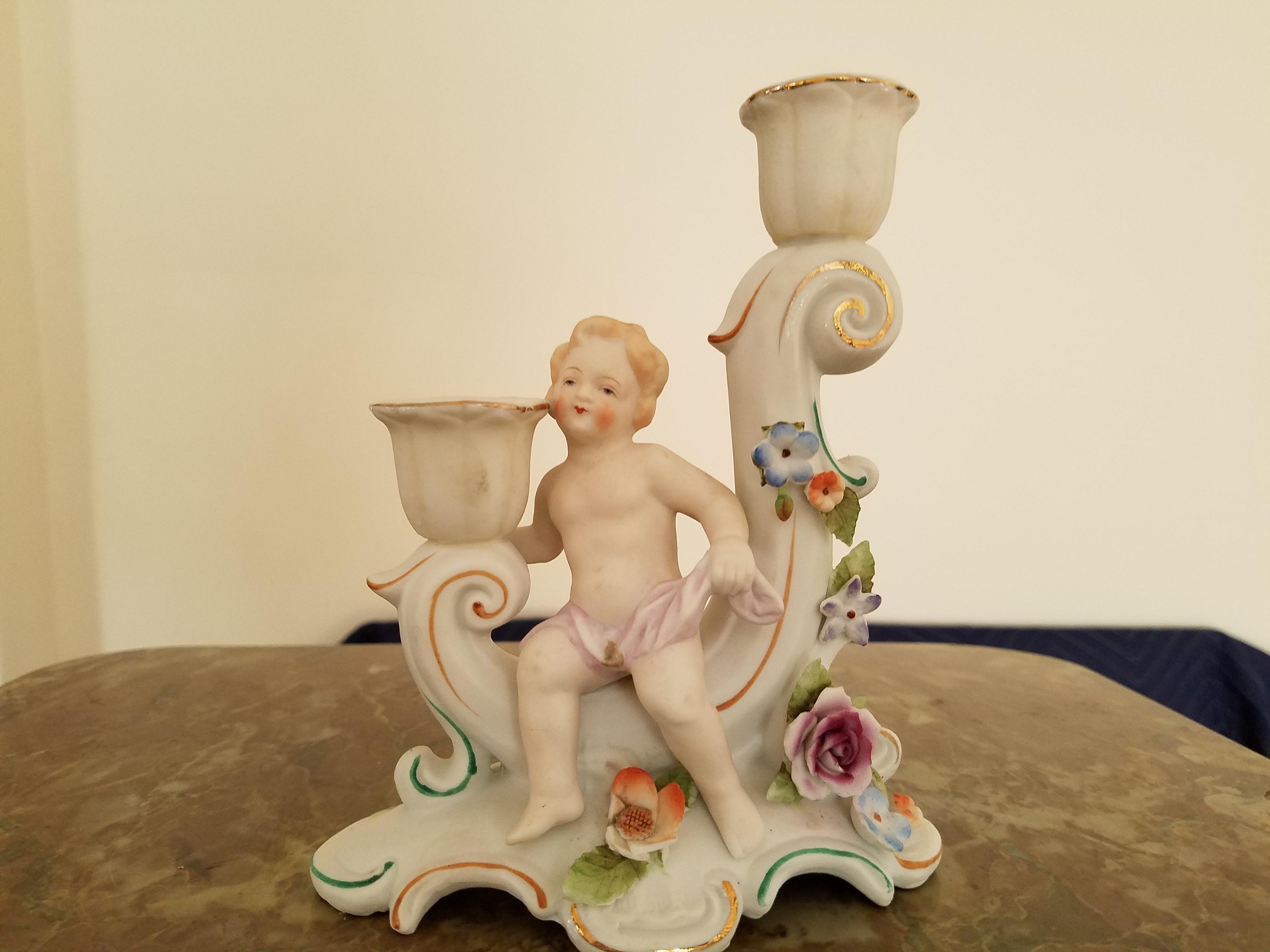 Porcelain Cherub