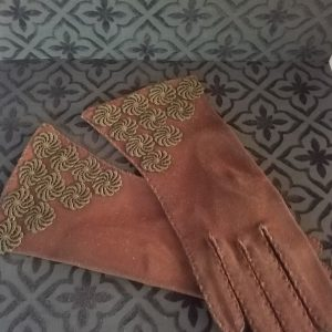 Brown Parisdoe Gloves