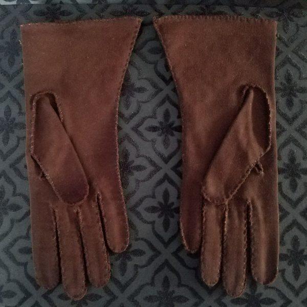Brown Parisdoe Gloves