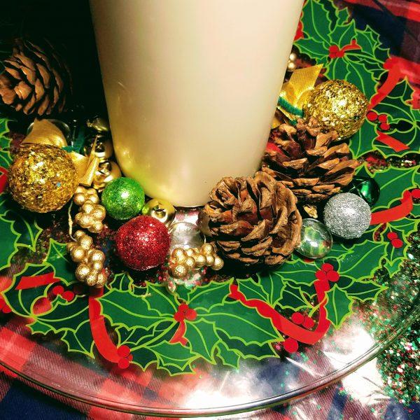Holly Christmas Plate
