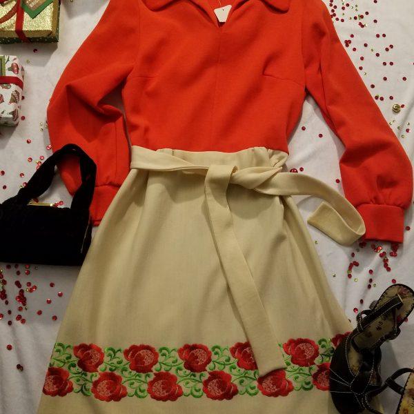 Vintage Bleeker Street Dress