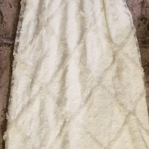 Vintage White Ruffle Dress