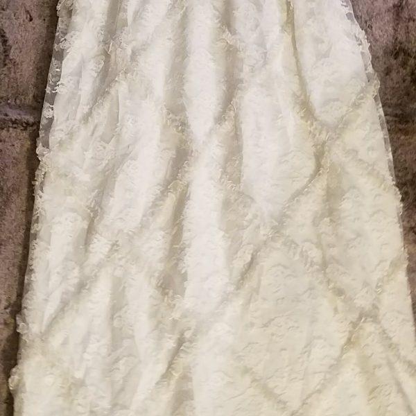 Vintage White Ruffle Dress