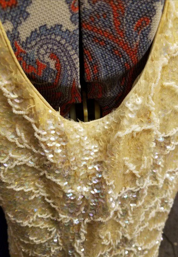Vintage Chi Chi Silk Gown