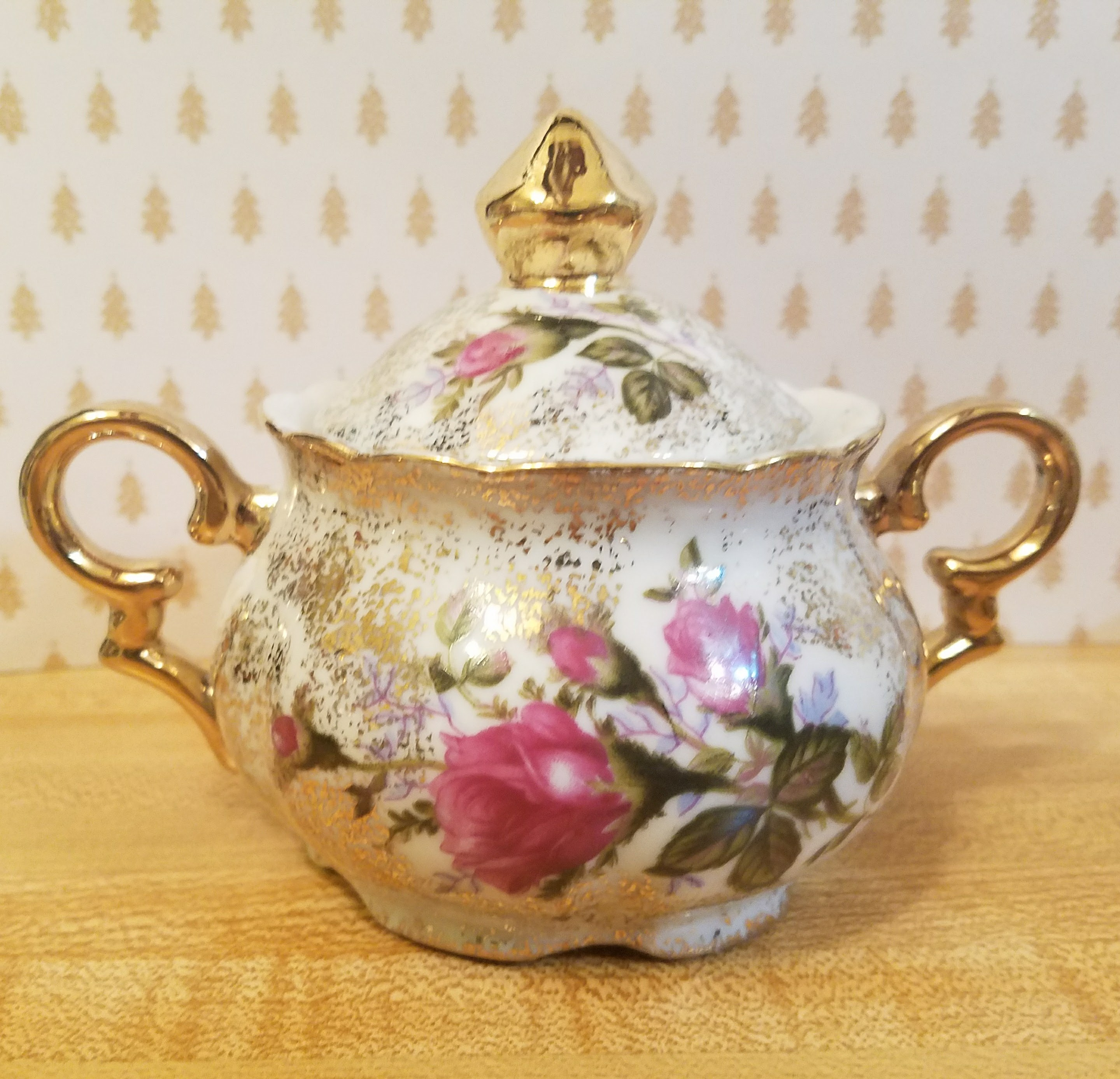 Vintage Hand Painted Betson