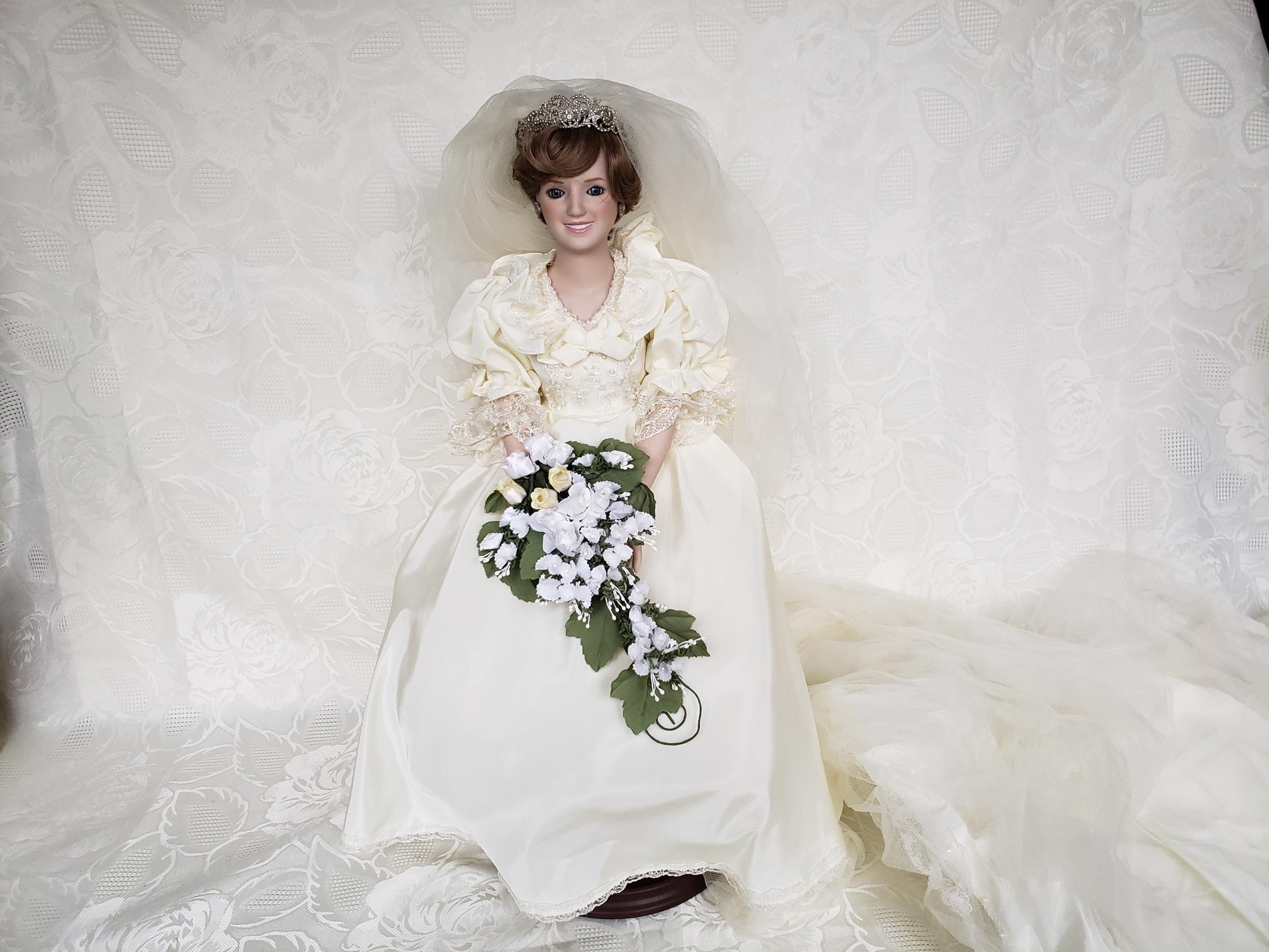 Princess Diana Bride Doll Aunt Gladys Attic